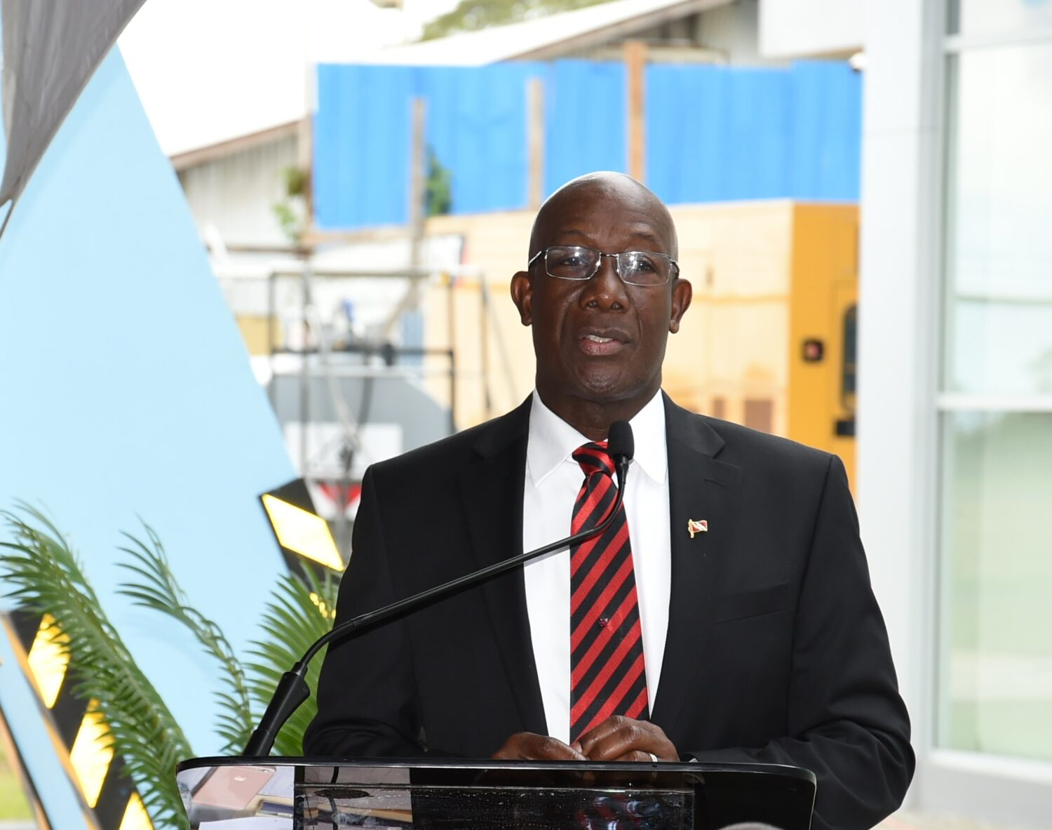 Office of the prime minister republic of trinidad and - Prime minister office postal address ...