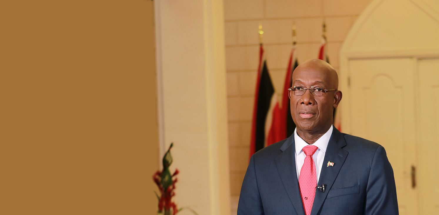 Office of the prime minister republic of trinidad and tobago - Prime minister office postal address ...